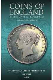 Coins of England 2019 book cover