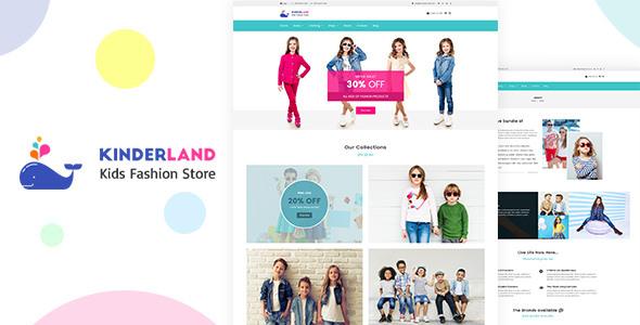 Kinder land v1.4 – Kids Fashion Store Shopify Theme