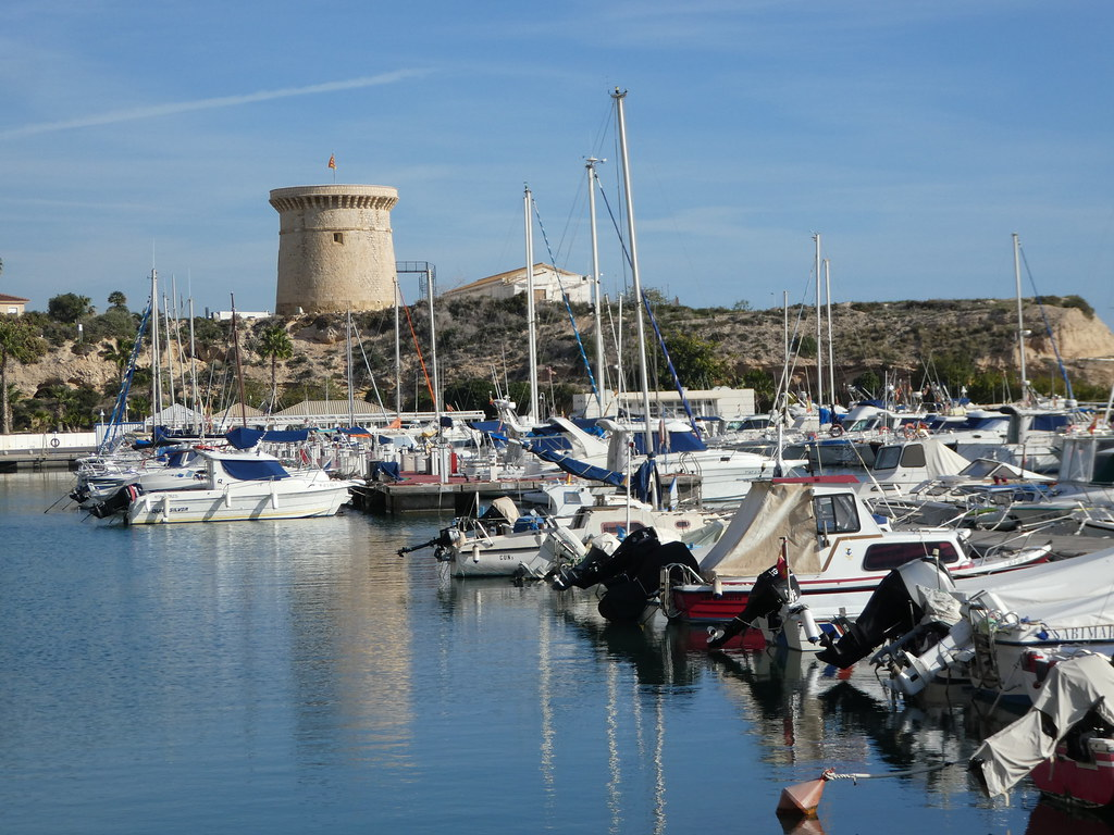 The marina, El Campello