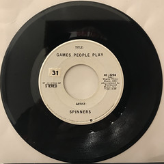 SPINNERS:GAMES PEOPLE PLAY(RECORD SIDE-A)