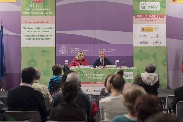 Presentación del primer libro sobre nutrición y ENM