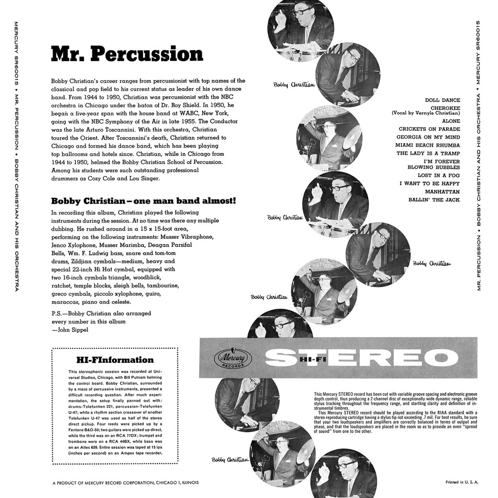 Bobby Christian - Mr. Percussion