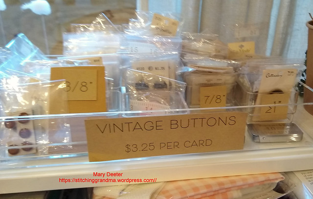 Vintage buttons for sale