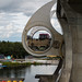 The Falkirk Wheel - moving up