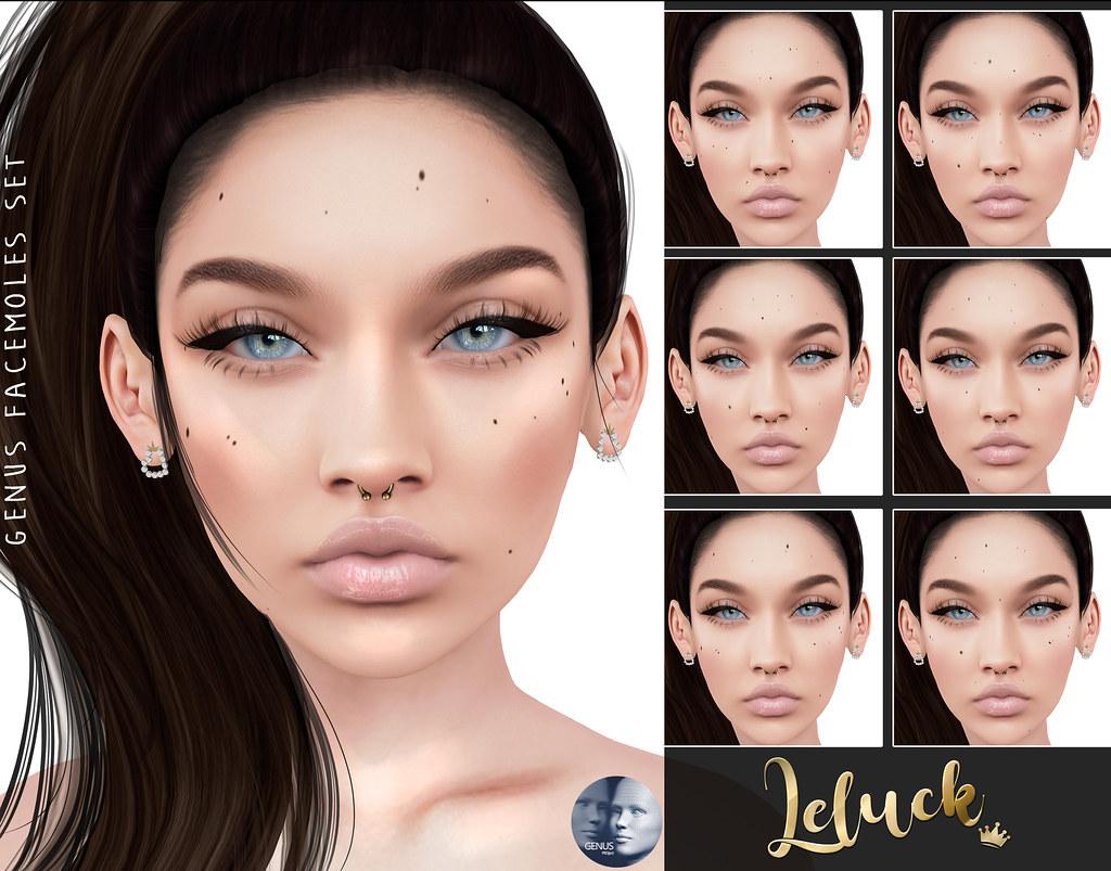 [LeLuck]Genus Facemoles Set