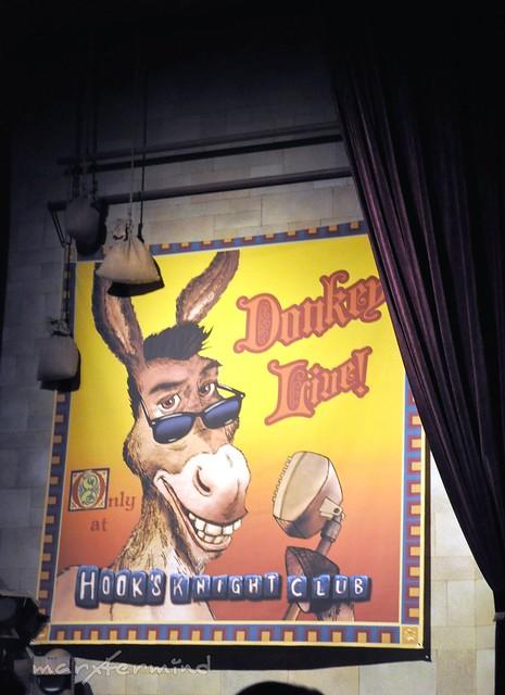 Donkey Live Universal Studios Singapore
