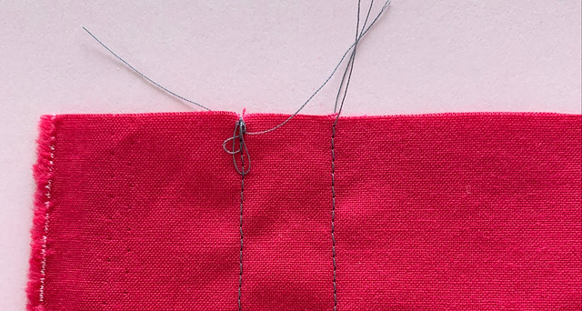 Backstitch example