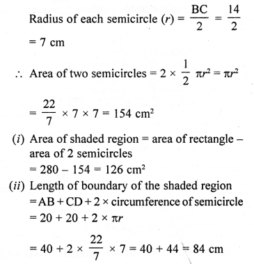 10th Maths Solution Book Pdf Chapter 15 Areas related to Circles