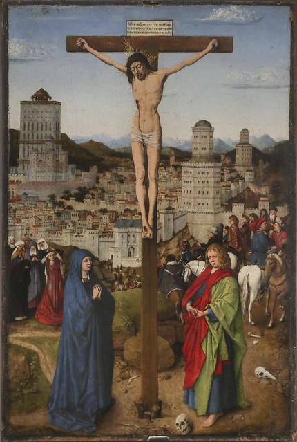 Crocifissione, Jan van Eyck, Maastricht 1390 - Bruges 1441