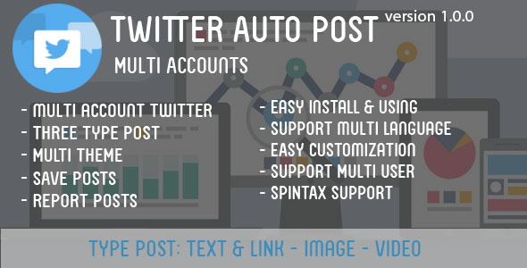 Twitter Auto Post Multi Accounts