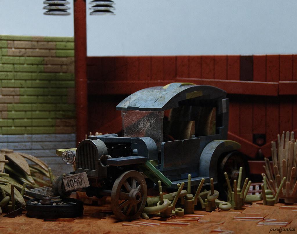 Abandoned Model T