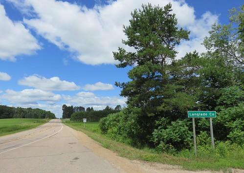 Entering Langlade County (Langlade County, Wisconsin)