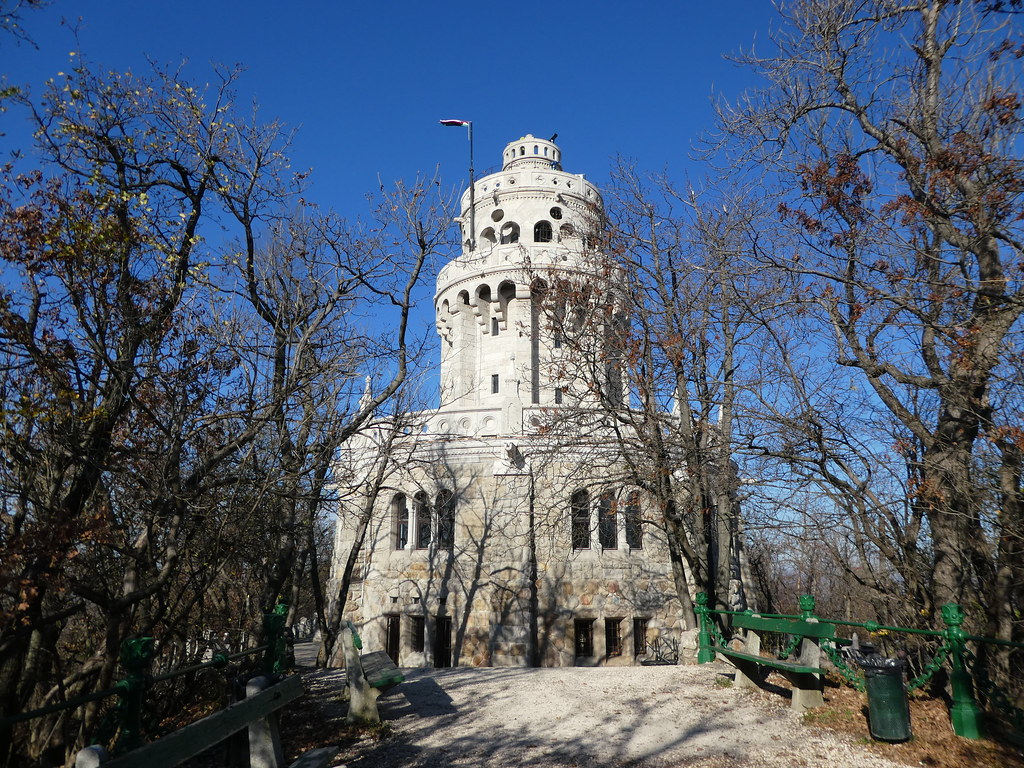 Elizabeth Lookout Tower, Zugliget Chairlift, Budapest