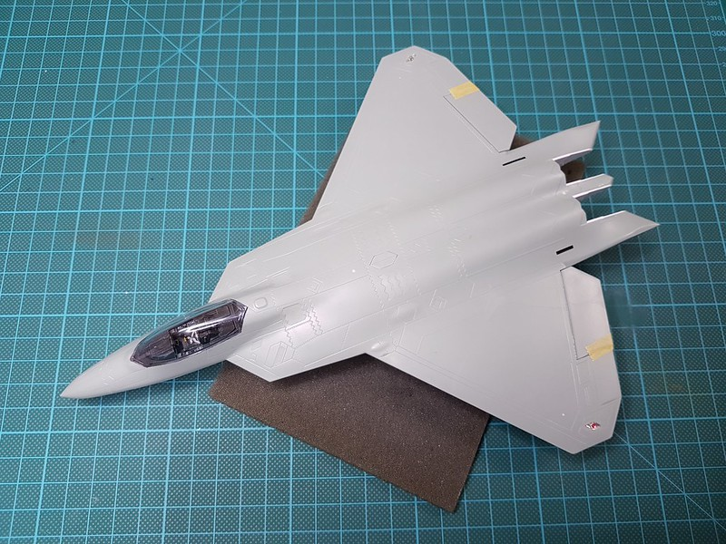 Academy 1/72 F-22A Air Dominance Fighter - Sida 4 44377273030_d45fb7dc82_c