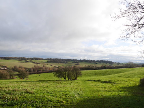 Looking down on Great Gaddesden