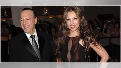 Revelan fortuna que heredaría Thalía cuando Tommy Motola cuelgue los tenis