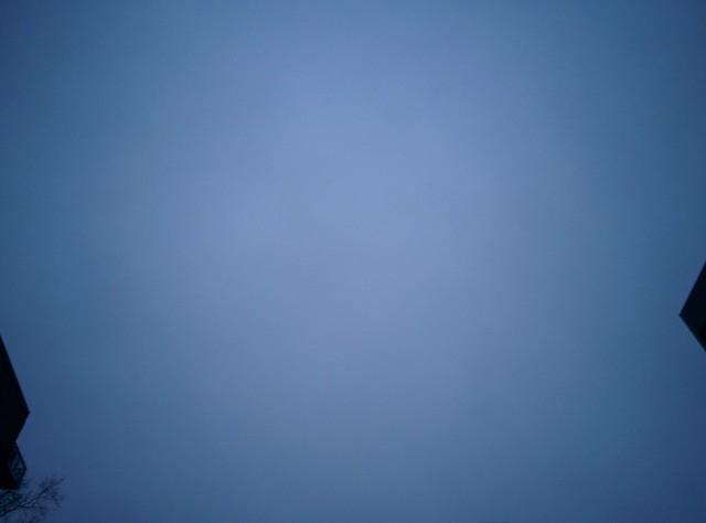 Blue between towers, looking south from Wellesley #toronto #evening #blue #sky #towers #wellesley #churchandwellesley