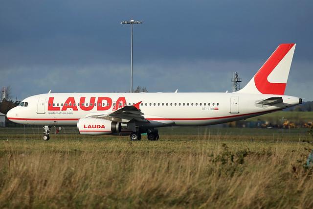 LaudaMotion Airbus A320-232, OE-LOB.