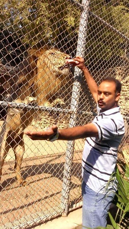 Karachi zoo sajjad photos