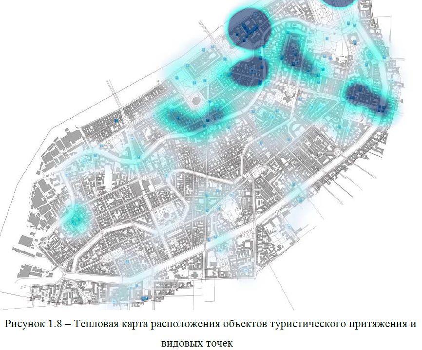 пешеходы - точки притяжения 2