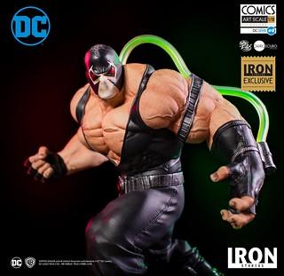 蝙蝠俠塊陶啊~~ Iron Studios DC Comics【班恩 豪華版】Bane Deluxe 1/10 比例全身雕像作品