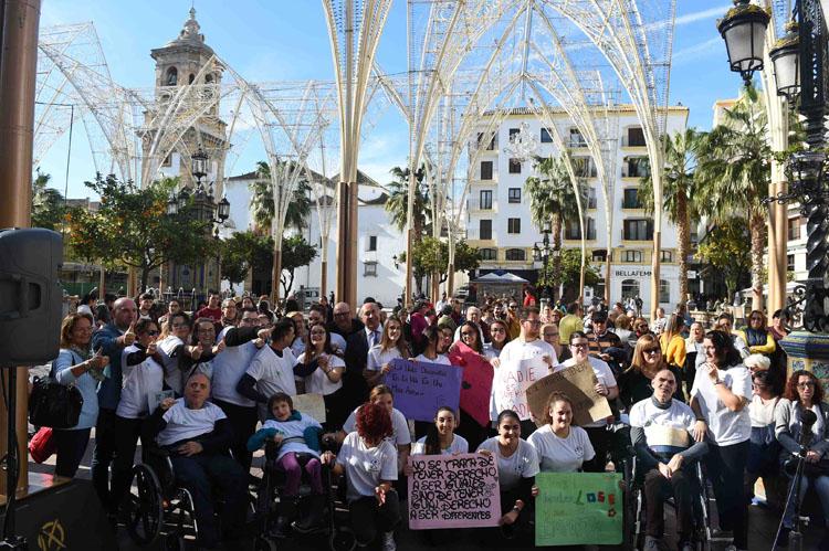 Algeciras conmemora el Día Internacional de las Personas con Discapacidades