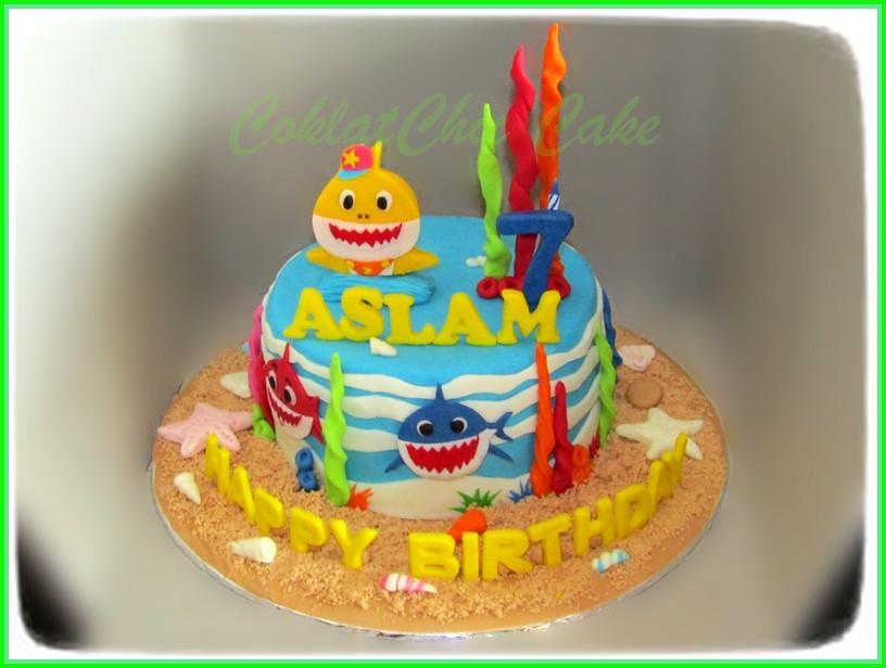 Cake Baby Shark ASLAM 15 cm