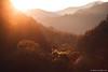 Ultimi raggi dorati nella Val Degnaga