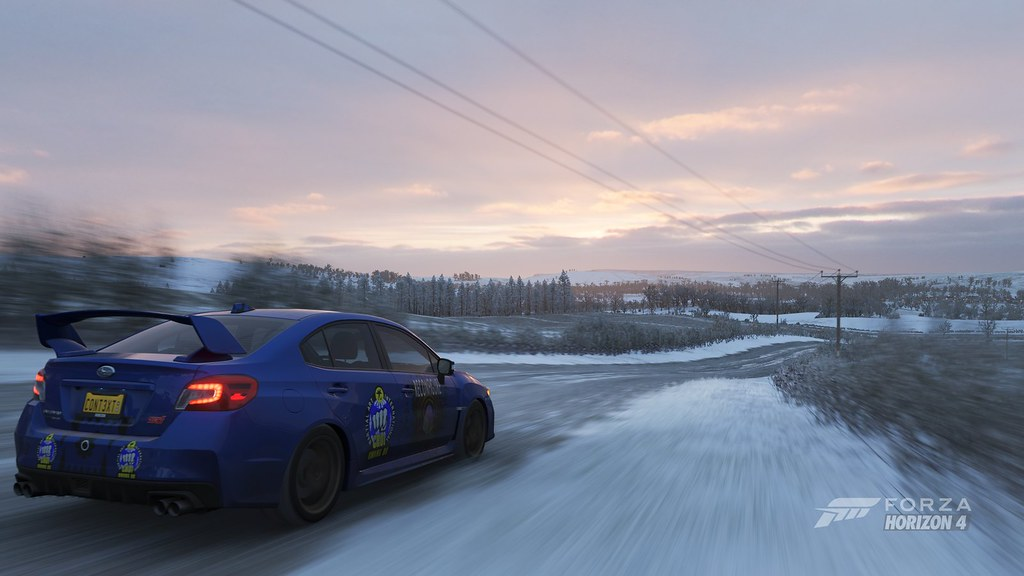 Forza Horizon 4 Scooby Snow