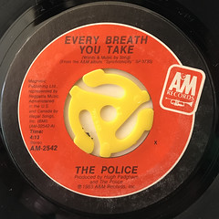 THE POLICE:EVERY BREATH YOU TAKE(LABEL SIDE-A)