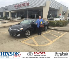 #HappyBirthday to Debra from Justin Brown at Hixson Toyota of Leesville!