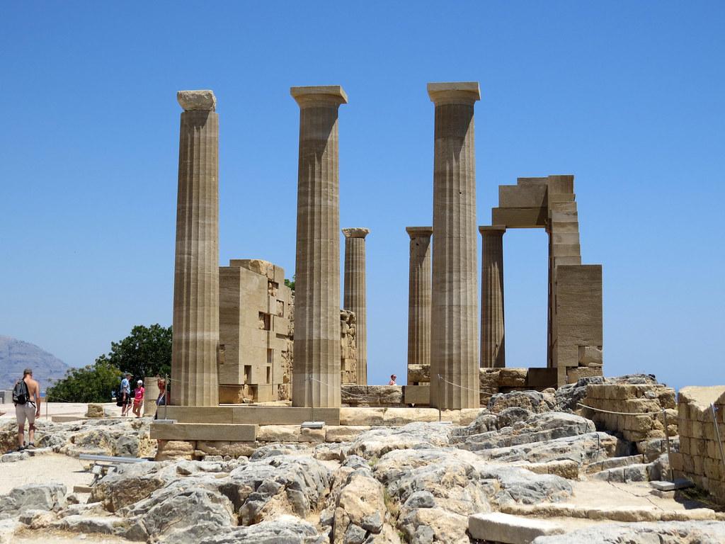 Храм Афины Линдии 2