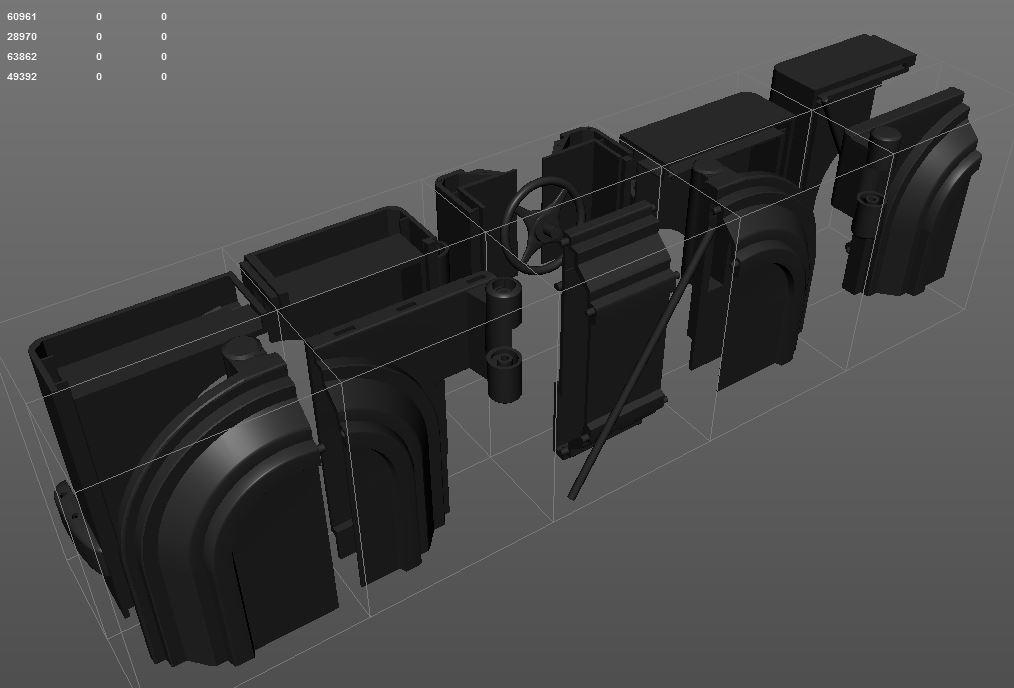 1/6 Scale 89 Batman Armory Custom (3D Print) 45839292172_aef28e7f01_o