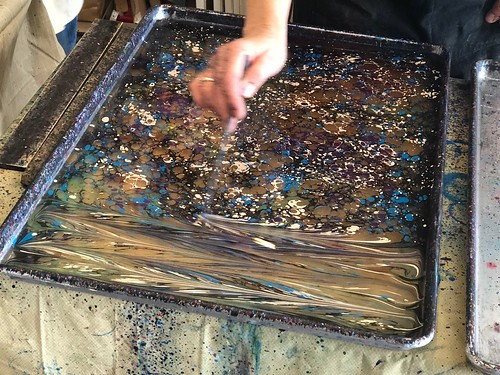 Paper Marbling with Cary Suneja, 11/3/18