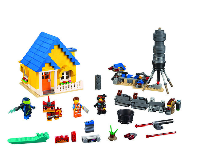 70831 Emmet's Dream House-Rescue Rocket