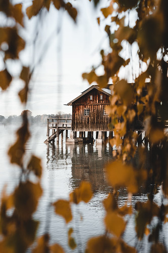 Autumn at lake Ammersee from Toni Hoffmann