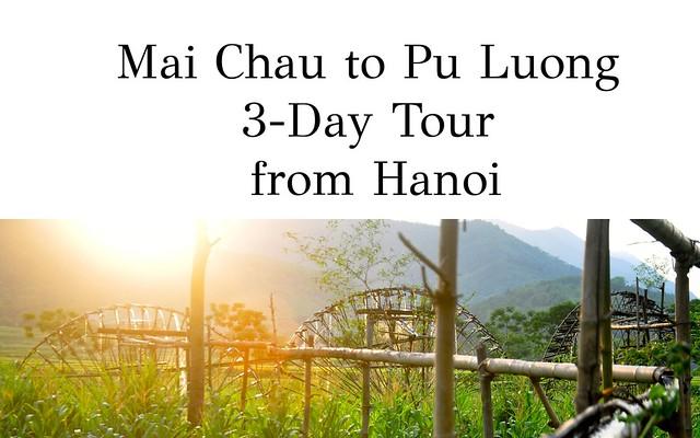 Mai Chau Pu Luong tour