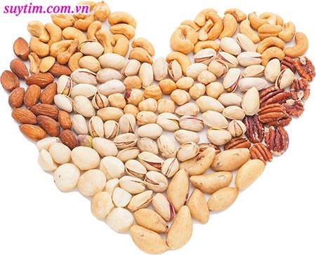 Các loại quả hạch tốt cho sức khỏe tim mạch