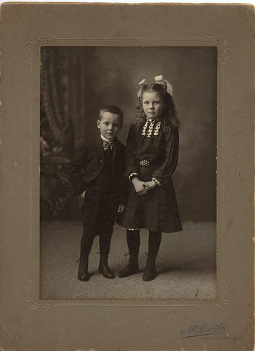 PB12 9a Grace and Fred Weir c1900s