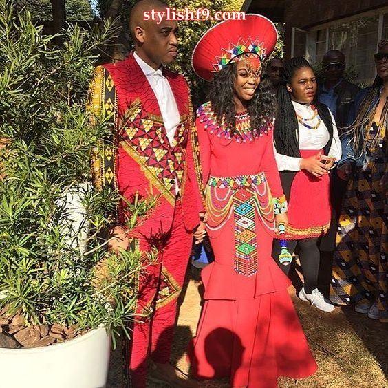 Zulu Traditional Wedding Attire 2019 Stylish F9