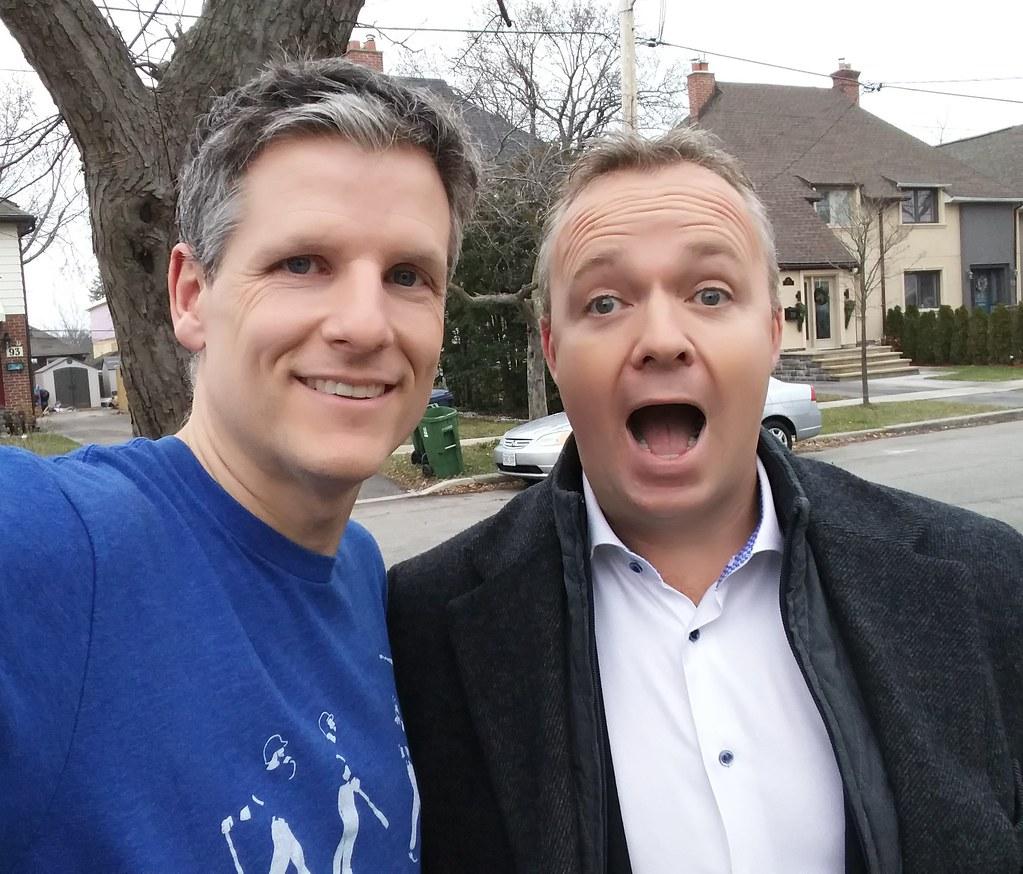 Matt Cauz and Toronto Mike