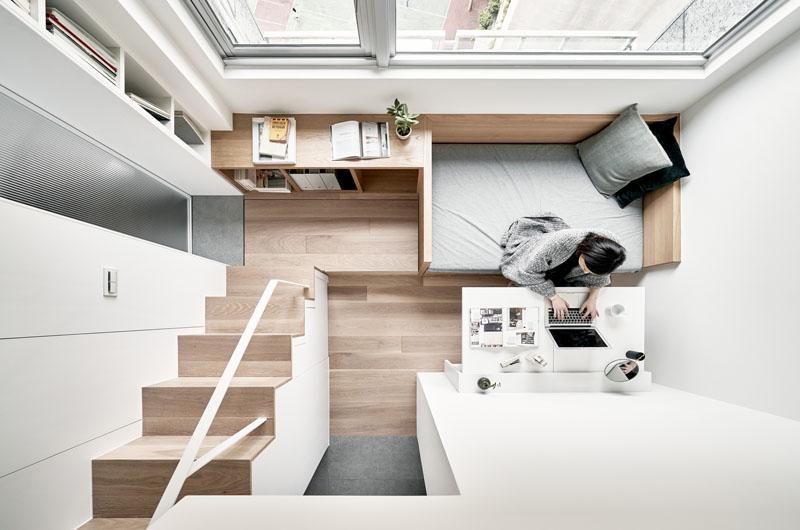 Desain Interior Apartemen Kompak Untuk Rumah Kecil