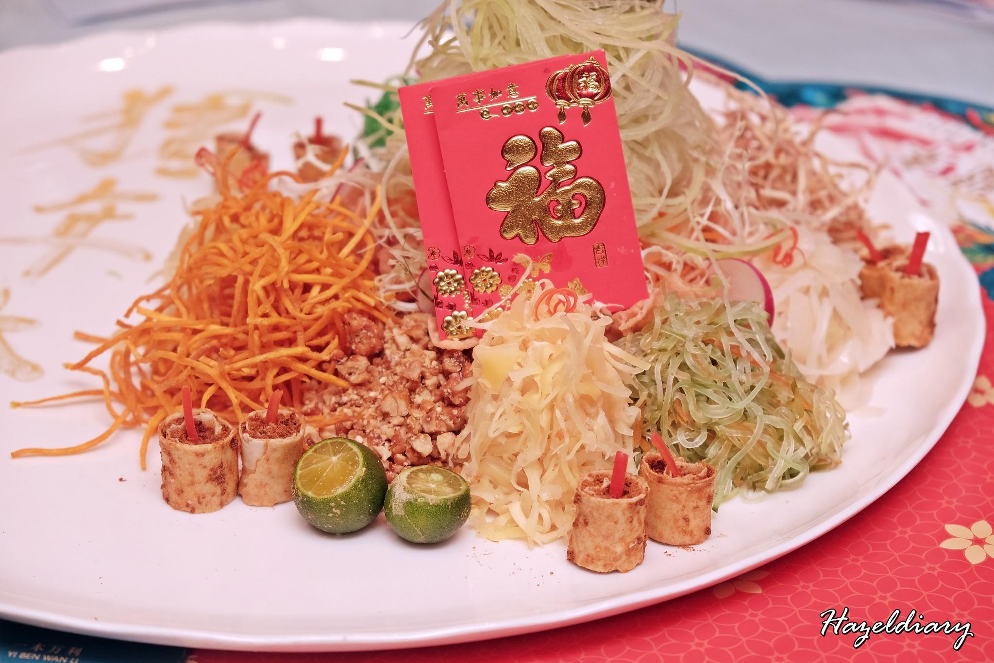 Crystal Jade Restaurant-CNY 2019-Yusheng