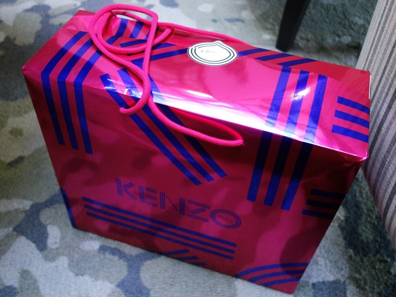 Kenzo box bag