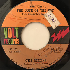 OTIS REDDING:(SITTIN' ON) THE DOCK OF BAY(LABEL SIDE-A)