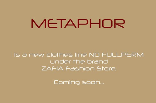 METAPHOR | by ZAFIA Fashion Store-METAPHOR