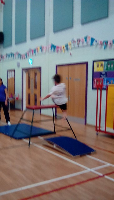 Years 1-3 Gifted and Talented gymnasts 2019