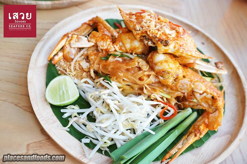 savoey pad thai crab