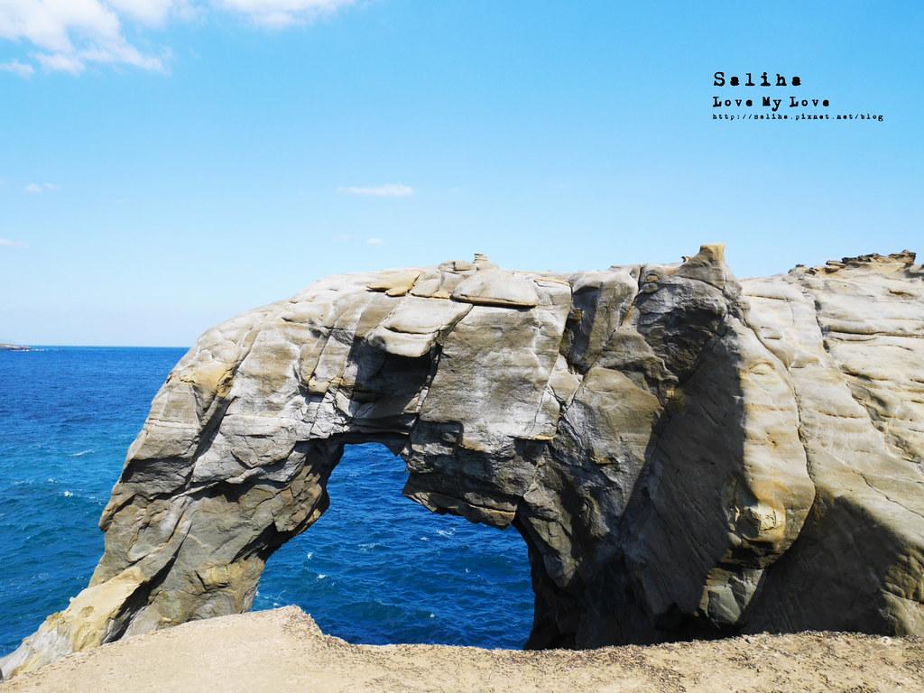 新北北海岸一日遊瑞芳必拍好玩景點推薦象鼻岩打卡 (14)