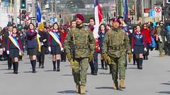 Sunday military parade - videos